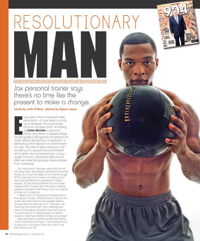 �resolutionary man� editorial in 904 magazine pose well