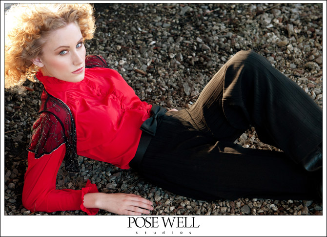 Caitlin Model Shoot by Agnes Lopez for Posewell Studios