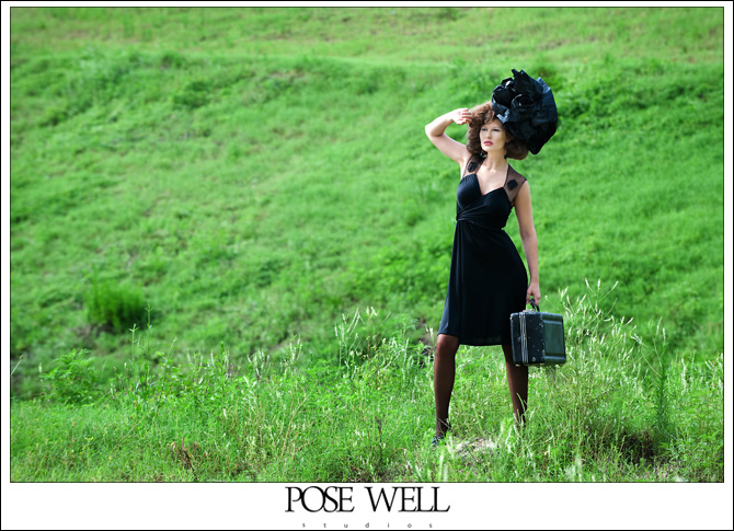 Model shoot with Dove from Benz Model and Talent by Agnes Lopez for POSE WELL