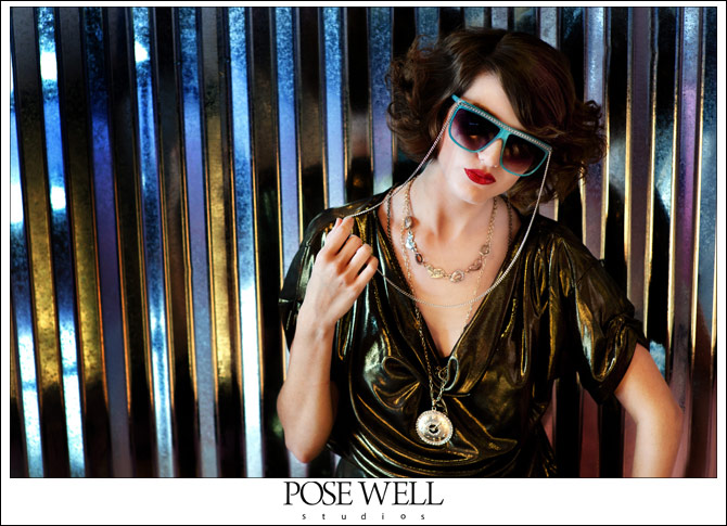Test shoot with KayLee at Subculture Five Points by Agnes Lopez for POSE WELL Studios