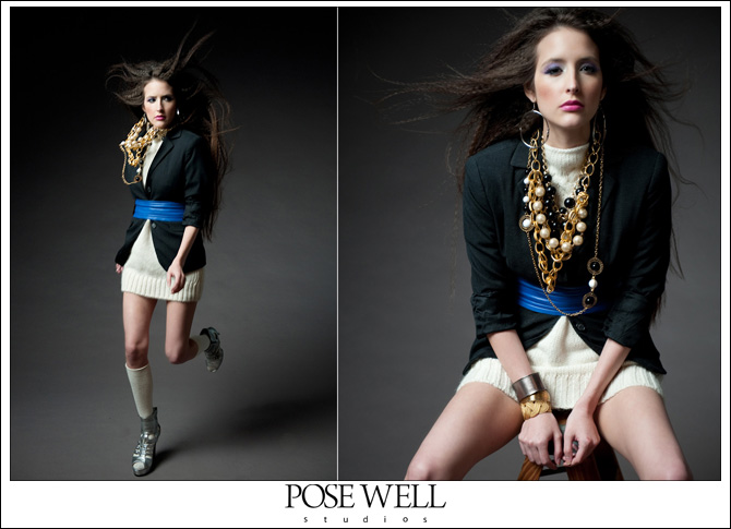 Test Shoot with model Trica by Agnes Lopez for Pose Well Studios