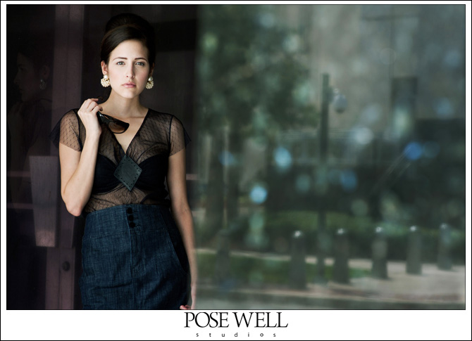 Test shoot with Trica by Agnes Lopez for POSE WELL Studios