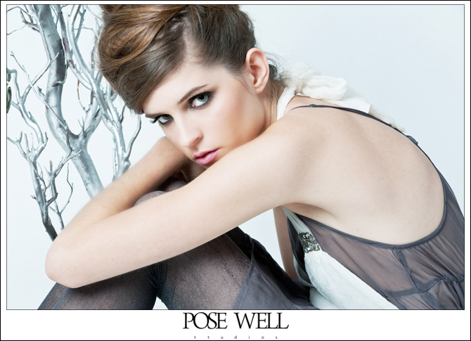 Model shoot with Kelsey by Agnes Lopez for POSE WELL Studios