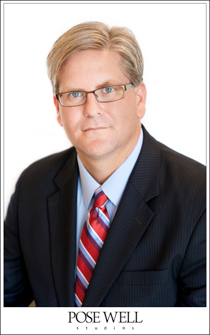 Attorney headshot - Brett Hastings - by POSE WELL Studios
