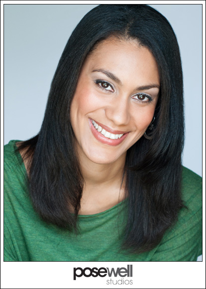 Christina May headshot by Agnes Lopez for Pose Well Studios - 1 of 2