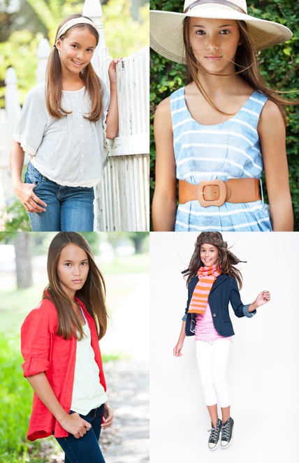 Comp Card Shoot of a young model and actor Emily by Agnes Lopez for POSE WELL Studios - 2 of 2
