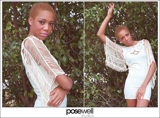 Comp card shoot for Jazzmin by POSE WELL Studios - image 2 of 3
