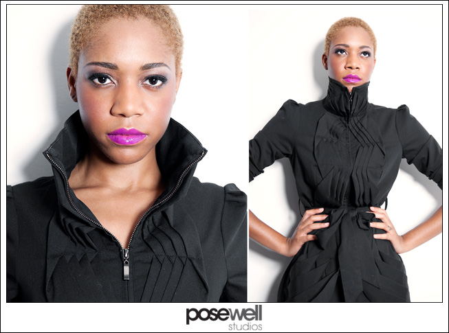 Comp card shoot for Jazzmin by POSE WELL Studios - image 3 of 3