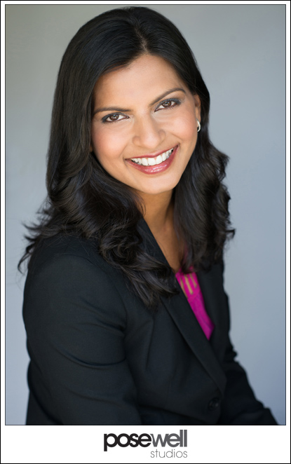 Headshot of Dr. Rachana Patel of Florida Eye Specialists by Agnes Lopez for Pose Well Studios