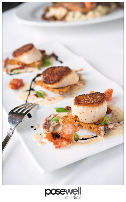 Scallops from the Aqua Grill - photo by Agnes Lopez