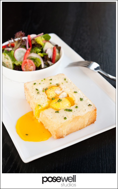 Egg toast from Black Sheep Restaurant - photo by Agnes Lopez