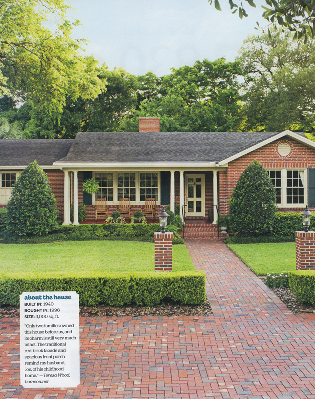 Copy the Curb Appeal editorial for HGTV Magazine - March 2015 - by Agnes Lopez