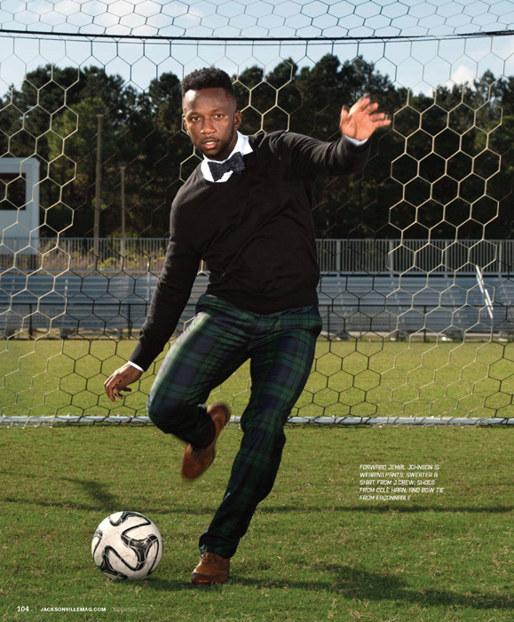 Jacksonville Armada Fashion Editorial for Jacksonville Magazine