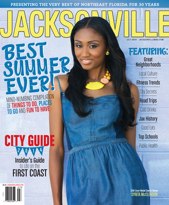 Jacksonville Magazine July 2014 Cover by Agnes Lopez