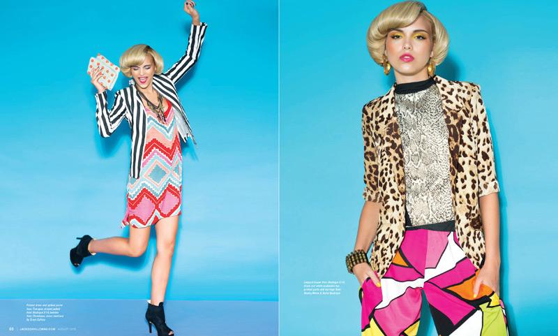 �bright ideas� fashion editorial for jacksonville magazine