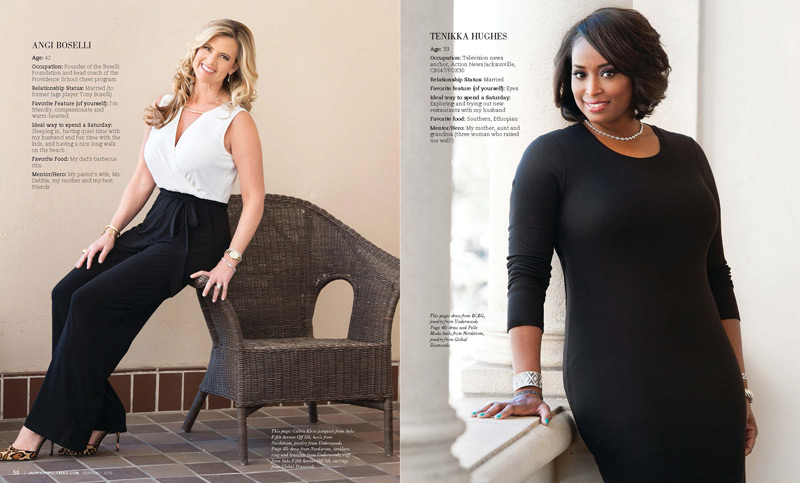 Jacksonville Magazine Beautiful Women shoot 2015 - Page 3-4