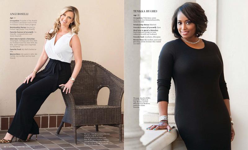 Jacksonville Magazine Beautiful Women shoot 2015 - Page 3-4