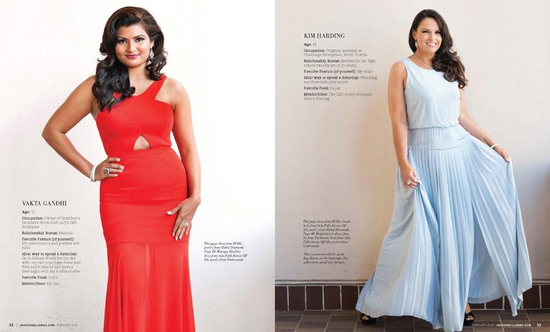 Jacksonville Magazine Beautiful Women shoot 2015 - Page 5-6