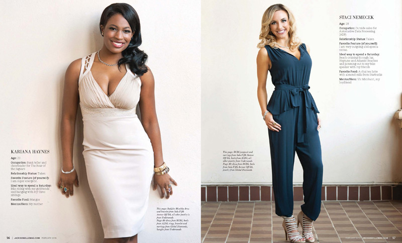 Jacksonville Magazine Beautiful Women shoot 2015 - Page 9-10