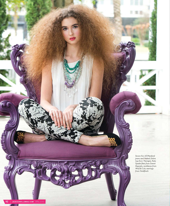 I Want Candy fashion editorial for Jacksonville Magazine - April 2015 - by Agnes Lopez