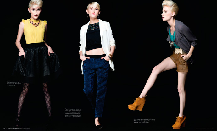 Modern Cool fashion editorial for Jacksonville Magazine January 2013 by Agnes Lopez 2 of 3