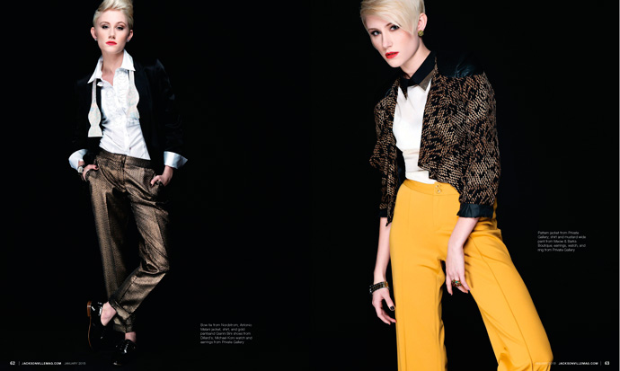 Modern Cool fashion editorial for Jacksonville Magazine January 2013 by Agnes Lopez 3 of 3