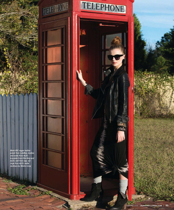 British Invasion fashion editorial for the January 2015 issue of Jacksonville Magazine - photos by Agnes Lopez - page 3