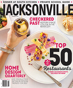 Jacksonville Magazine - January 2017 cover