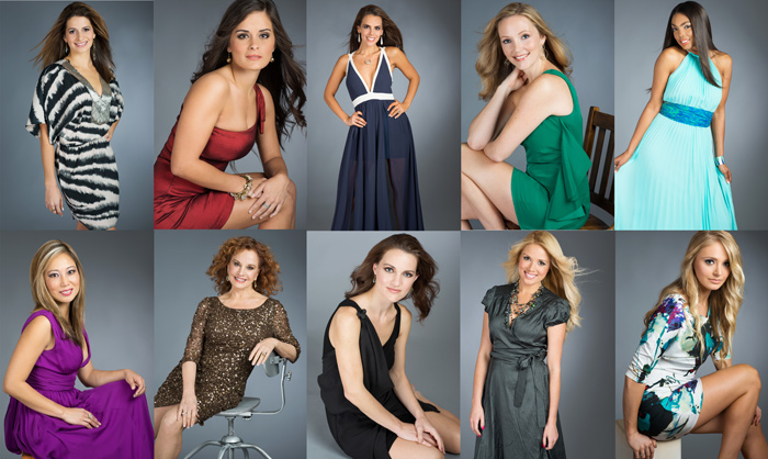 Jacksonville Magazine's Most Beautiful Women 2013 photographed by Agnes Lopez