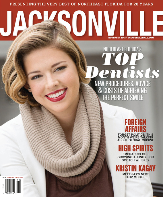 Jacksonville Magazine November 2012 cover by Agnes Lopez