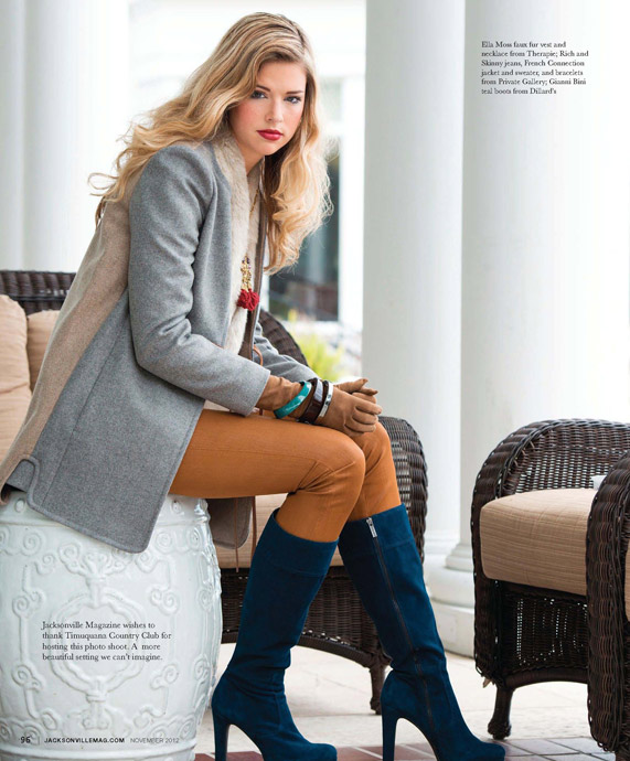 November Fashion Editorial for Jacksonville Magazine by Agnes Lopez