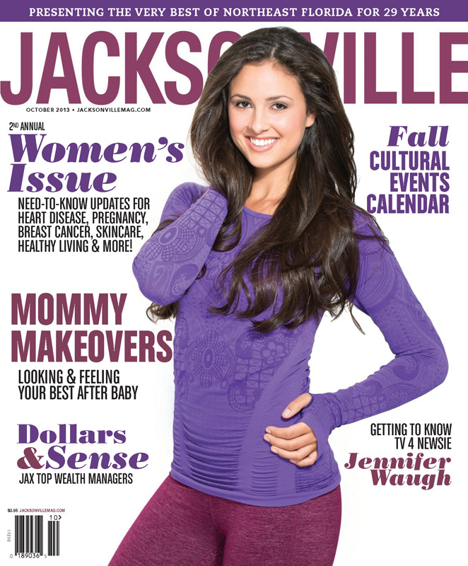 Jacksonville Magazine - October 2013 cover by Agnes Lopez