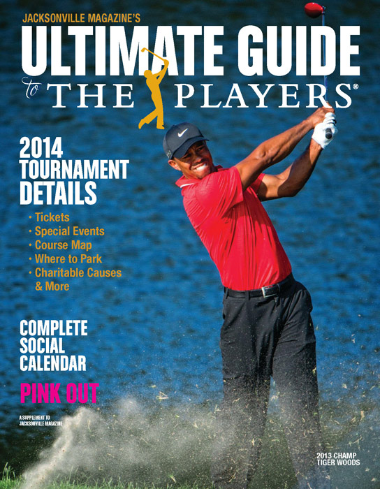 Jacksonville Magazine's Ultimate Guide to THE PLAYERS cover by Agnes Lopez