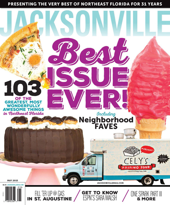 Jacksonville Magazine - May 2015 cover