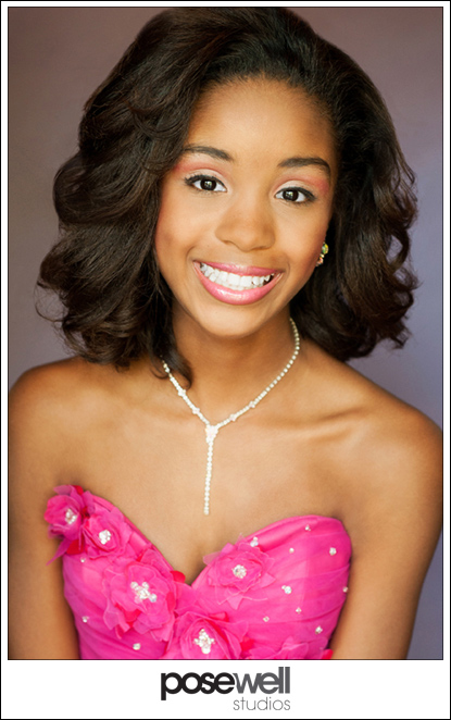 Pageant Headshot for Kaila - image 1 of 2 by Agnes Lopez for POSE WELL Studios
