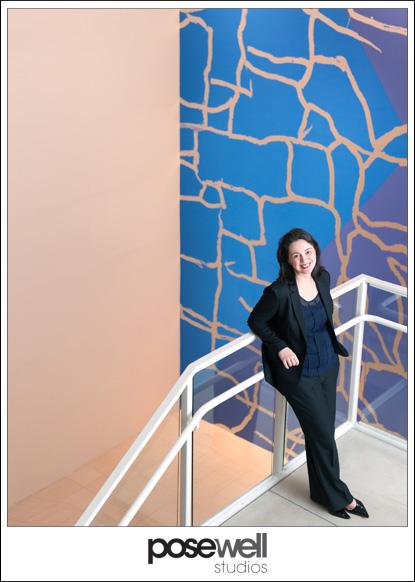 Portrait of MOCA Jacksonville Director Marcelle Polednik by Agnes Lopez for Pose Well Studios