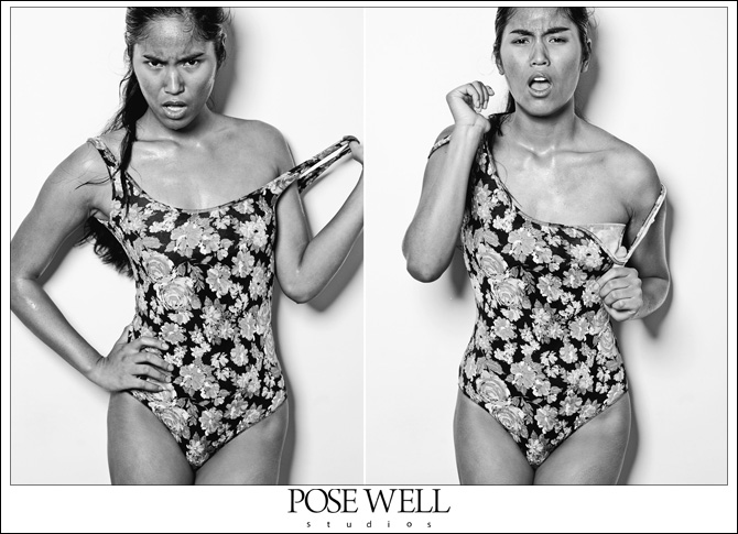 Model test shoot of Danielle by Agnes Lopez for POSE WELL Studios - image 3