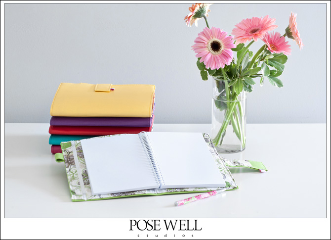 Sheic Journals product shots by Agnes Lopez for POSE WELL Studios