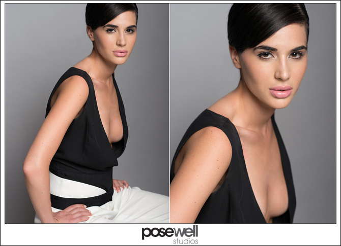 Model shoot from May 27th 2014 by Agnes Lopez for Pose Well Studios