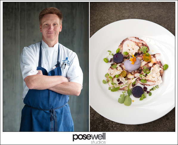 Portrait of Chef Thomas Tolxdorf, The Ritz-Carlton, Amelia Island