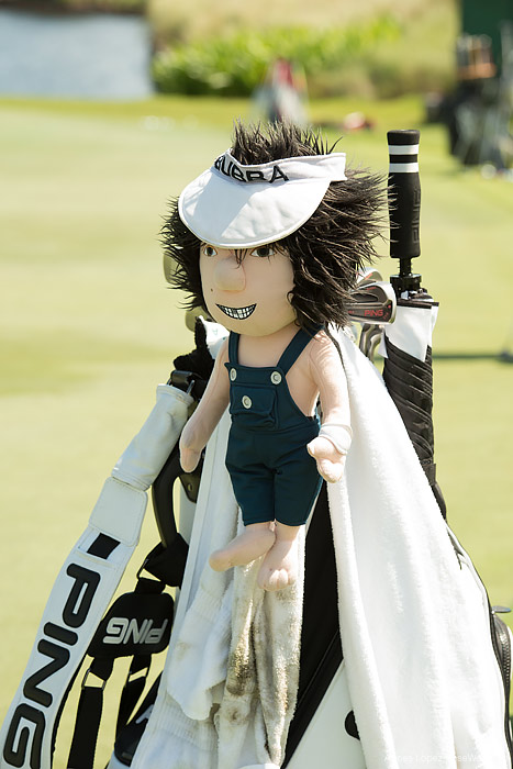 Masters Champion Bubba Watson's headcover at TPC Sawgrass from THE PLAYERS 2013 by Agnes Lopez